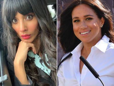 Jameela Jamil and Meghan Markle
