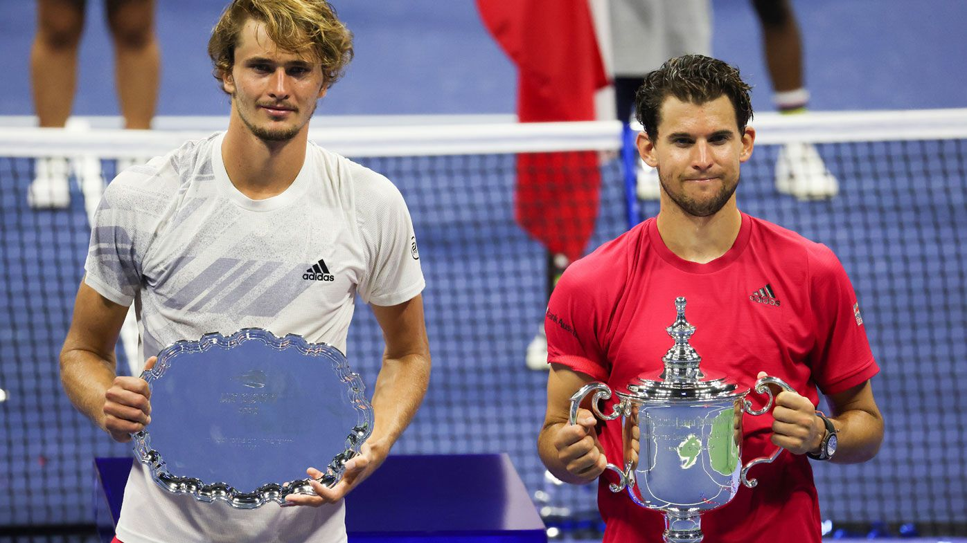 Alexander Zverev and Dominic Thiem's US Open final didn't fill fans with confidence for the future of men's tennis. (Getty)