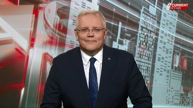 Prime Minister Scott Morrison has spoken with A Current Affair.