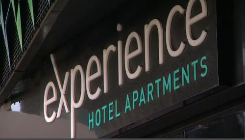A Traralgon man is accused of opening up the hydrants on 18 floors. Picutre: 9NEWS