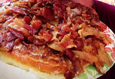The Maple Bacon Donut