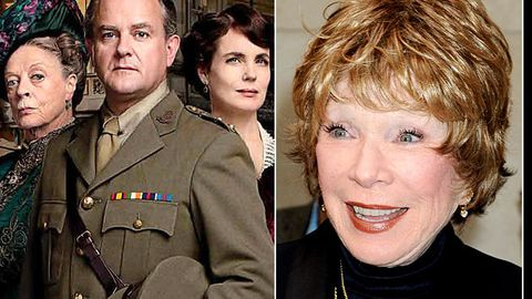 Shirley MacLaine is going to be in Downton Abbey
