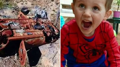 Could burnt-out car help lead police to William Tyrrell?