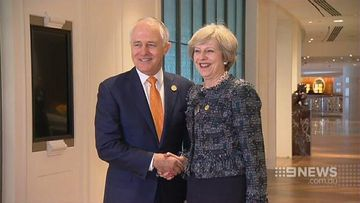 Malcolm Turnbull looks to UK free trade agreement following Brexit
