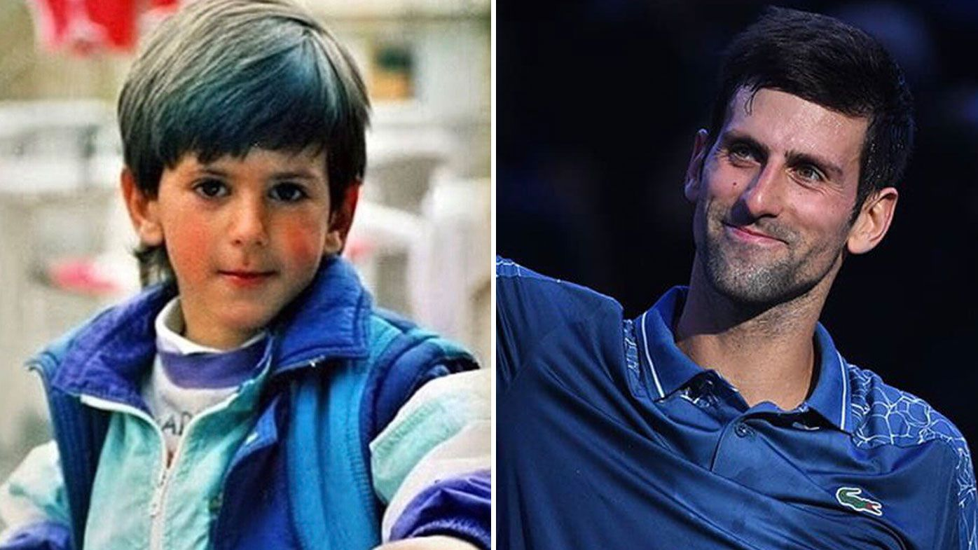 Djokovic throwback