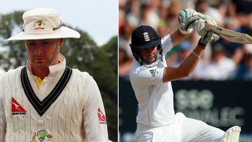 Michael Clarke's Australians need a record 412 to claim victory in the first Ashes Test. (AAP)