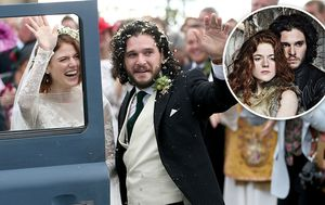 'Game of Thrones' on-screen lovers Kit Harington and Rose Leslie tie the knot - in real life