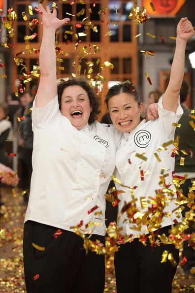 Julie Goodwin and Poh Ling Yeow in 2009.