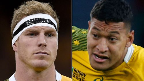 David Pocock and Israel Folau out of Rugby World Cup quarter-final