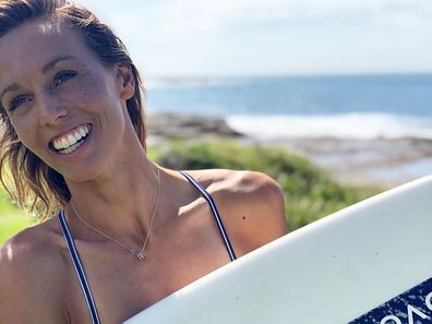 Australian surfer Sally Fitzgibbons