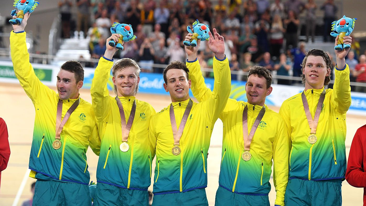 Aussie cycling team smash world record