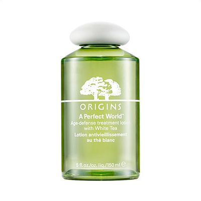 "<a href=""http://mecca.com.au/origins/a-perfect-world-age-defense-treatment-lotion/I-010916.html"" target=""_blank"">Origins A Perfect World Age Defense Treatment Lotion, $35.</a>"
