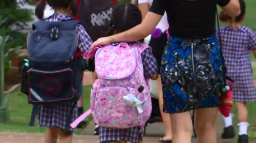 Parents and drivers have been warned to be careful in school zones as kids head back to school.