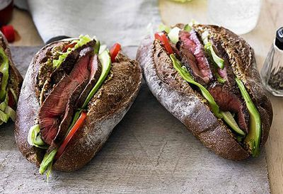"""<a href=""""http://kitchen.nine.com.au/2016/05/05/11/04/chargrilled-beef-rump-po-boy-rolls-with-chilli-sauce"""" target=""""_top"""">Chargrilled beef rump po' boy rolls with chilli sauce<br> </a>"""