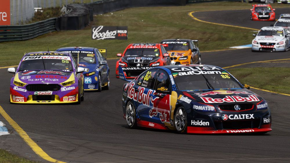 The Supercars are still looking to Asia. (AAP)
