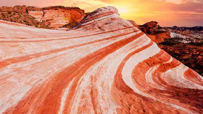 A desert spectacle