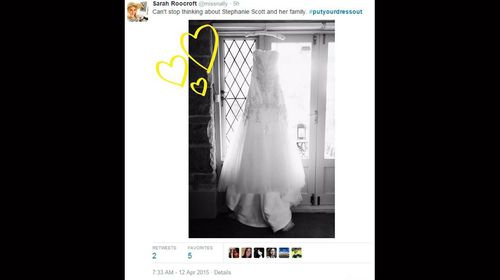 IN PICTURES: Australian women put dresses out in tribute to Stephanie Scott (Gallery)