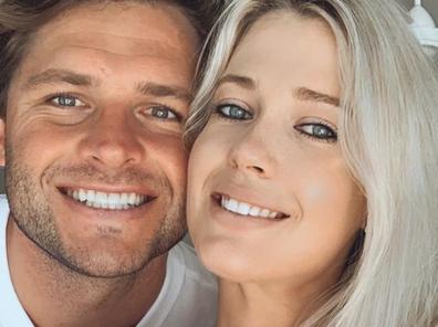 Amelia Spencer and fiance Greg Mallett