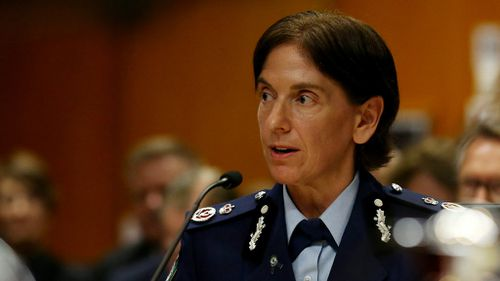 Deputy NSW police commissioner Catherine Burn. (AAP)