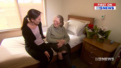 It's hoped the new technology will help nursing home staff during night shift. Picture: 9NEWS