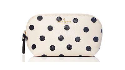 "<a href=""http://www.katespade.com/cedar-street-dot-annabella/PWRU3911,en_US,pd.html?dwvar_PWRU3911_color=019&cgid=ks-accessories-cosmetic-cases#start=16&cgid=ks-accessories-cosmetic-cases""> Cedar Street Dot Annabella, US$78, Kate Spade</a>"