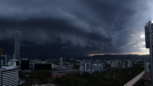 Brisbane residents set to face more wild weather this week