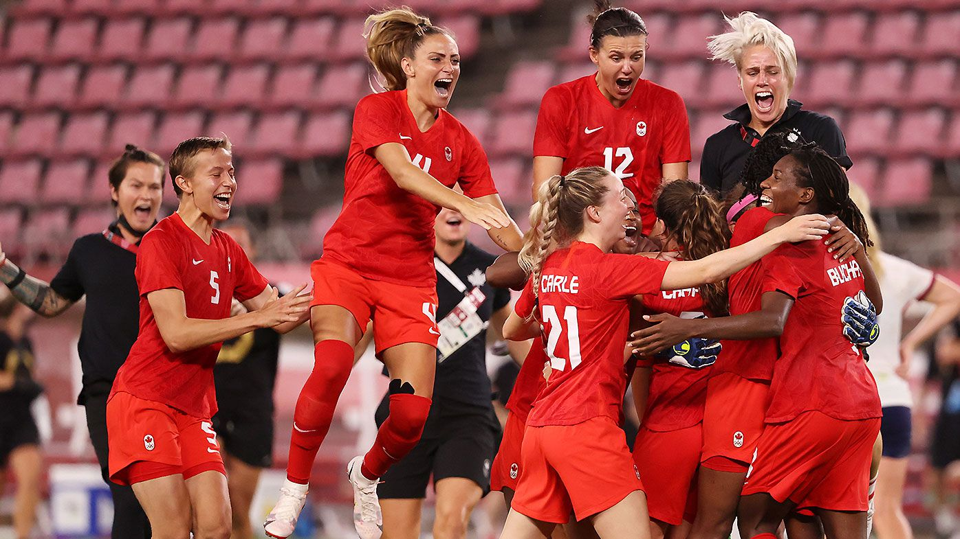 Canada women's football team at Tokyo Olympics