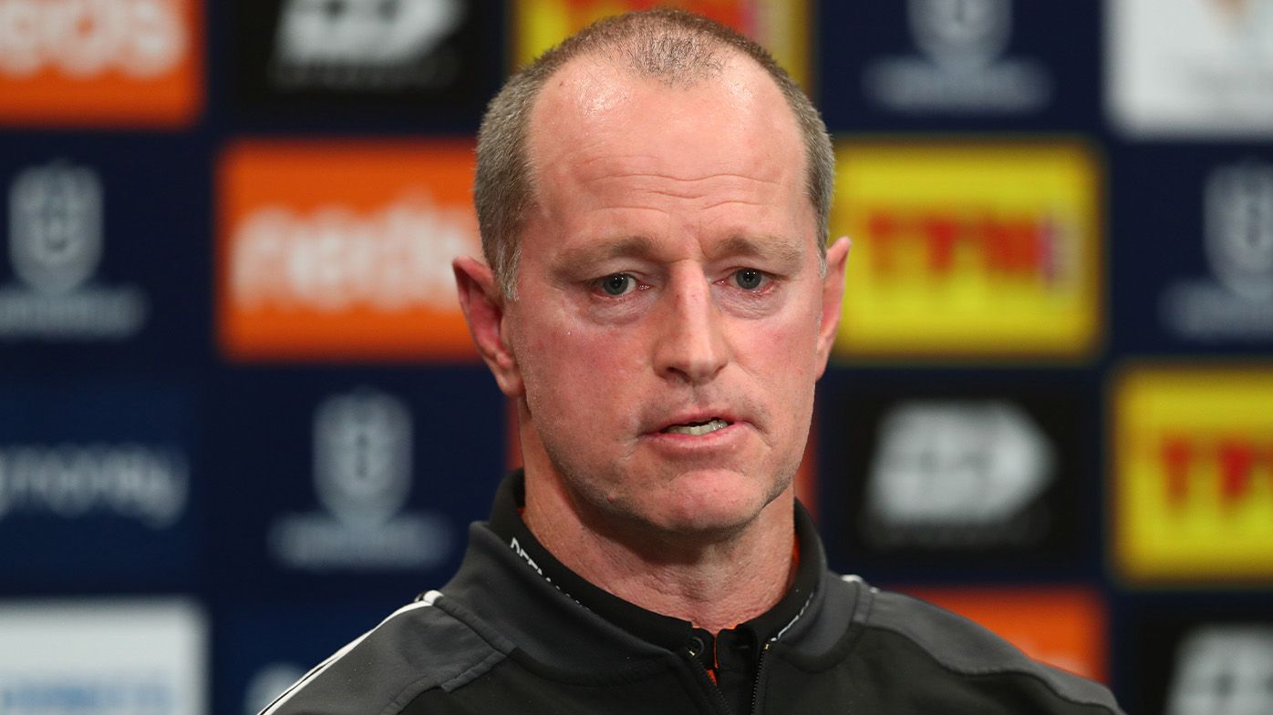 Michael Maguire dismisses reports of Wests Tigers trying to palm off big-money halfback Luke Brooks