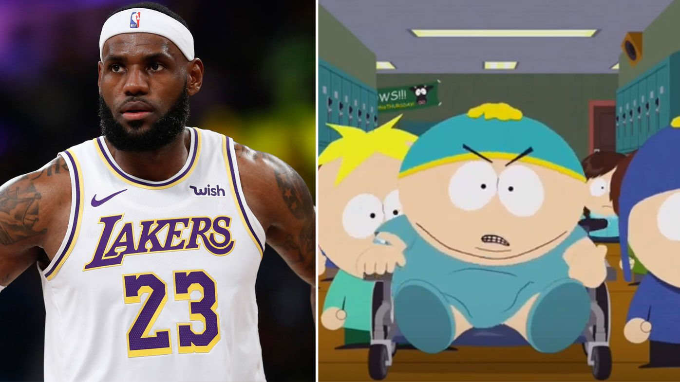 South Park mocks LeBron James as NBA's China fallout takes new twist