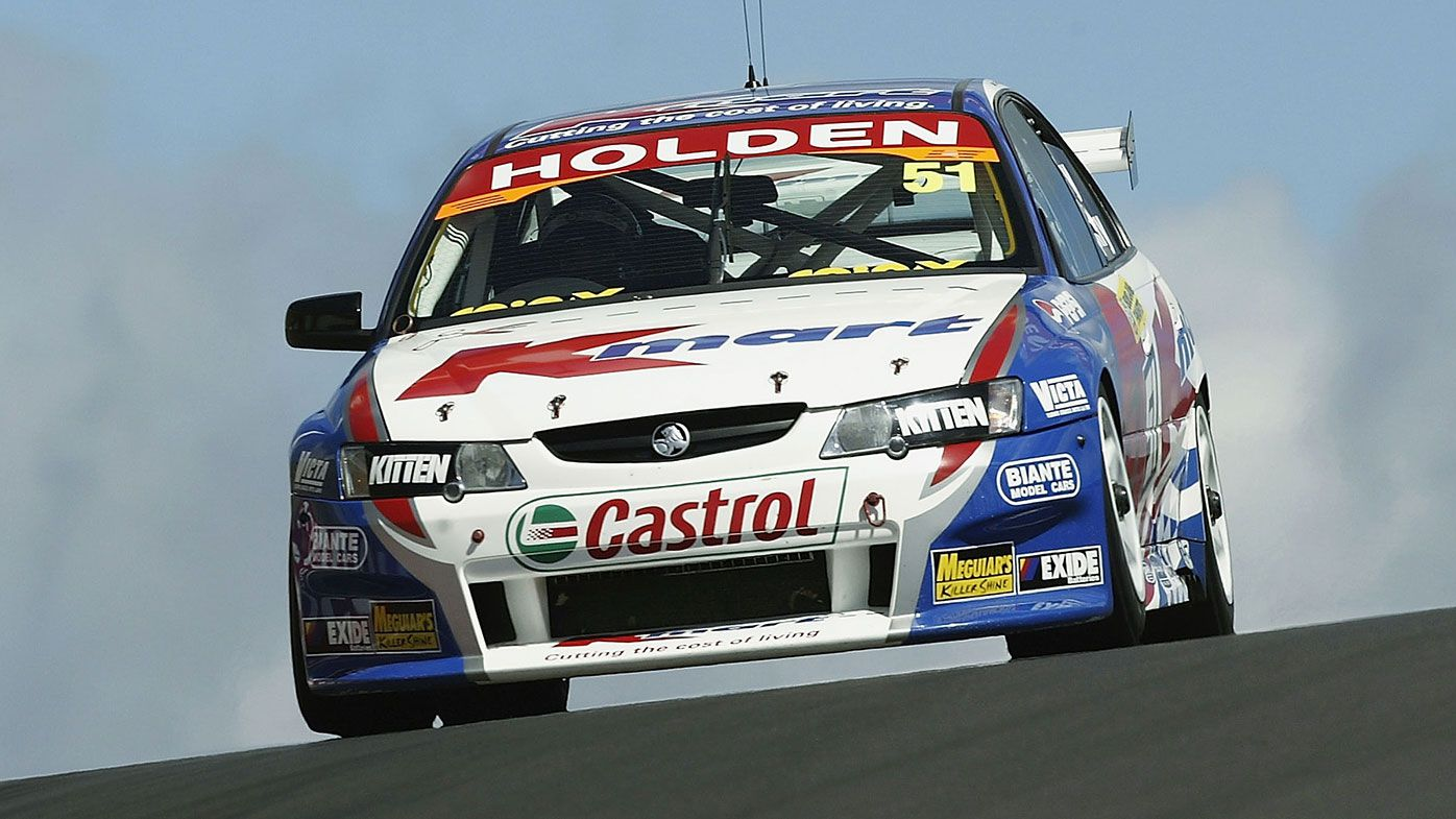 Greg Murphy on the way to his 2003 Bathurst 1000 win with Rick Kelly.