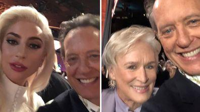 Richard E. Grant, Lady Gaga and Glenn Close