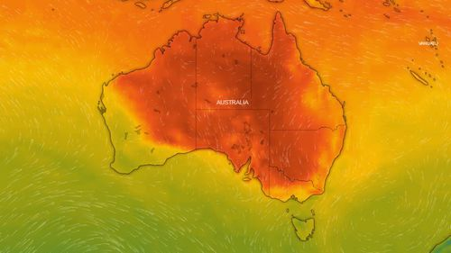Much of Australia's east coast is expecting the mercury to soar.