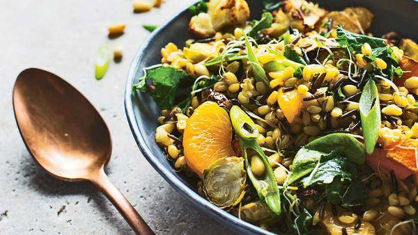 Teriyaki grain salad