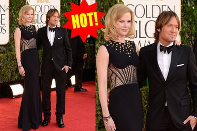 Nicole goes dominatrix with her best accessory yet: hubby Keith.