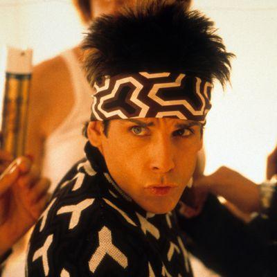 Ben Stiller as Derek Zoolander: Then