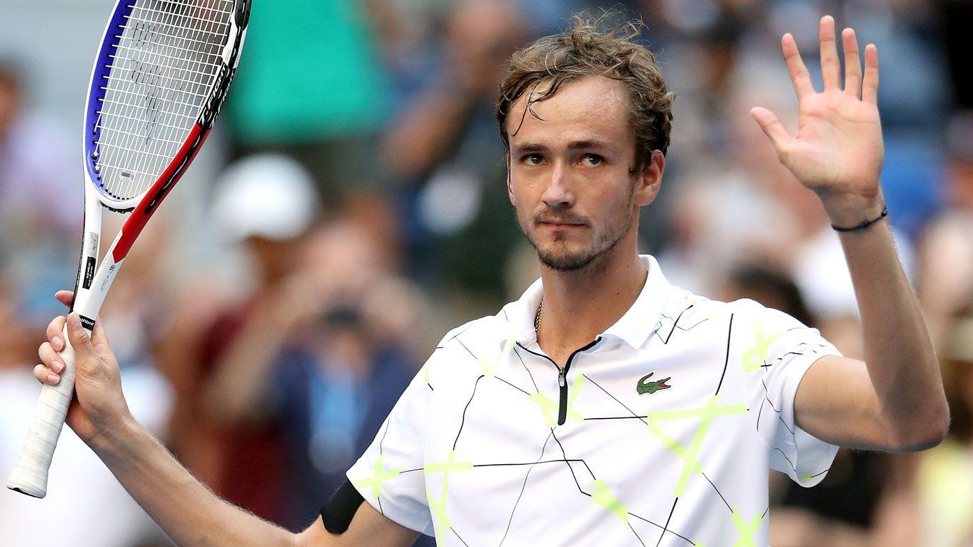 US Open super-villain Daniil Medvedev advances to first Grand Slam semi-final