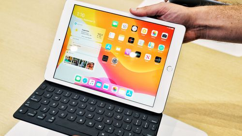 The new ipad. Picture: Trevor Long