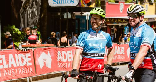 The event brings tens of thousands to the area. Picture: Tour Down Under