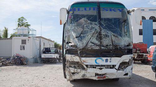 Runaway bus in Haiti kills 34, injures 15, officials say