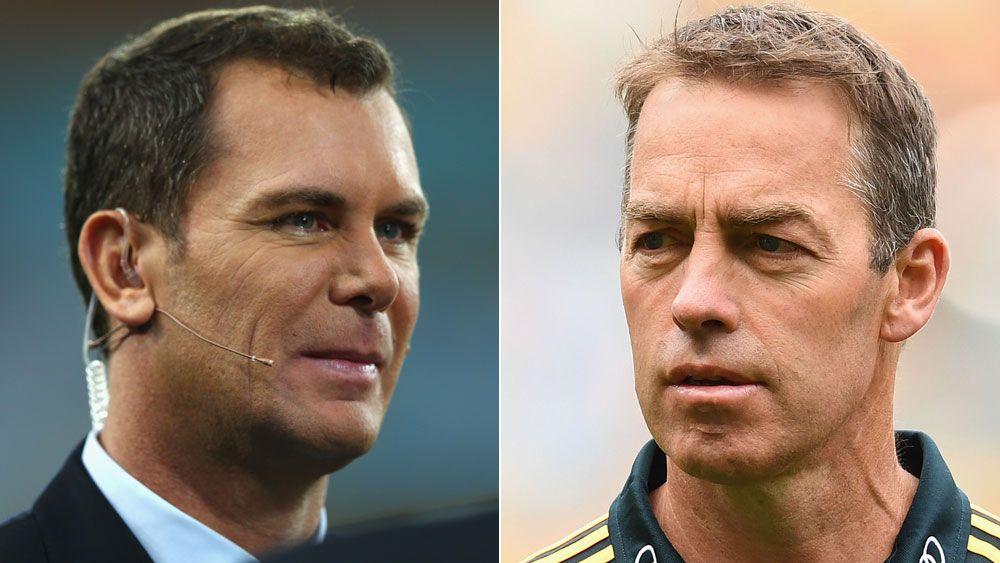 Hawthorn Hawks coach Clarkson blasts AFL commentator Wayne Carey over Cyril Rioli homesick comments