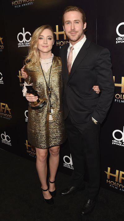 Saoirse Ronan and Ryan Gosling