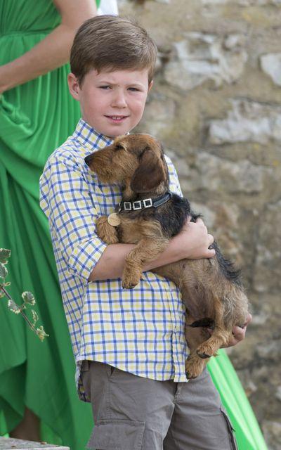 Prince Christian's summer holiday, 2014