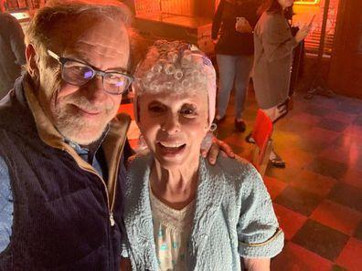 Steven Spielberg, Rita Moreno, West Side Story, on set
