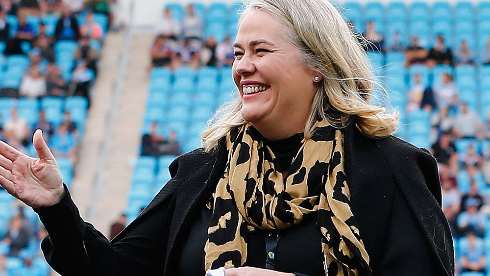 NRL: Gold Coast Titans chair Rebecca Frizelle steps aside, eyes ownership