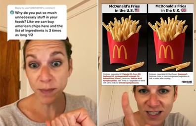 Viral TikTok exposes hazardous ingredients in US-made McDonald's fries