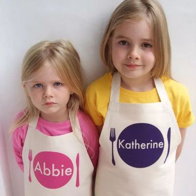 "<a href=""https://www.hardtofind.com.au/106361_personalised-kids-animal-apron-various-styles"" target=""_blank"">Personalised Kids Aprons, $45.</a> Why? For those days you are so exhausted you can't remember your children's names, you'll need these."