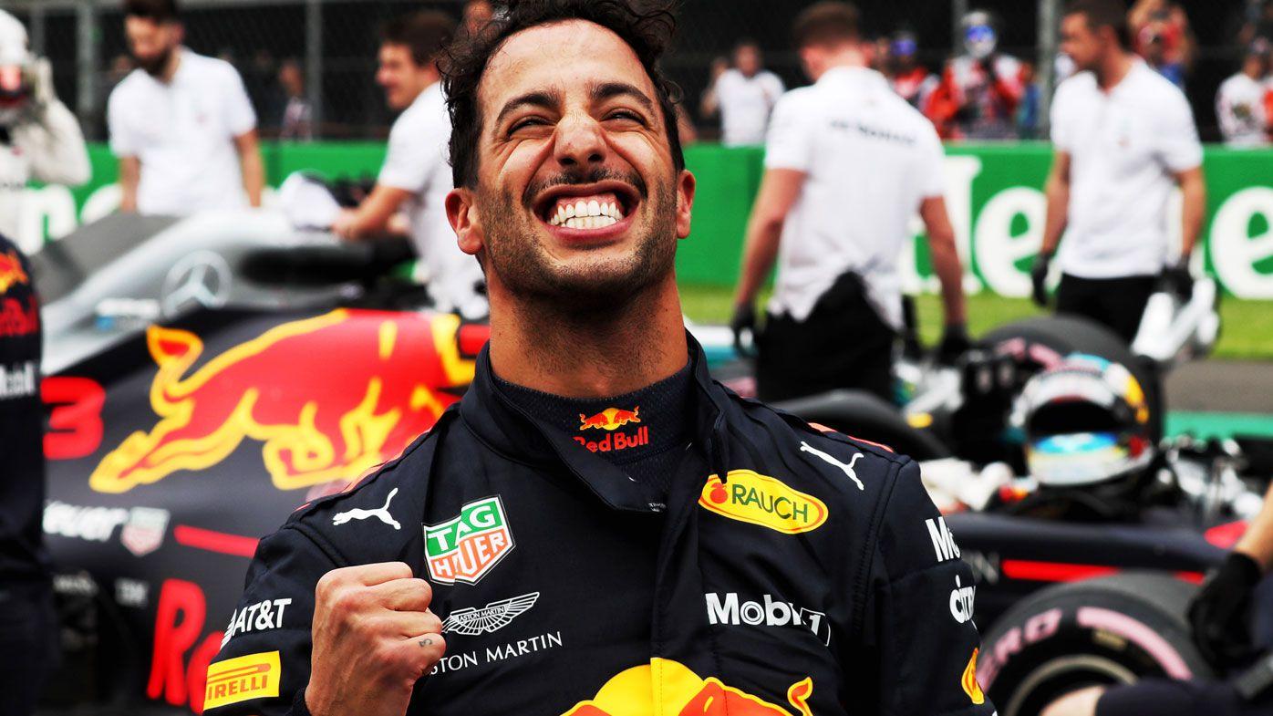 Daniel Ricciardo claims pole position at Mexican Grand Prix, delivers quote of the year