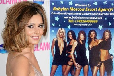 Cheryl Cole and her Girls Alive bandmates managed to see the funny side after discovering a Russian escort agency had been using their image to sell its services. <br/>