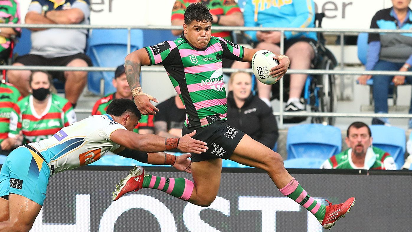 Rabbitohs rip up the record books in Titans belting on the Gold Coast