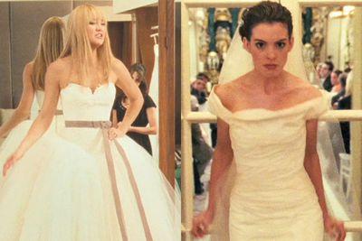 Examples: <i>Bride Wars</i>, <i>The Wedding Date</i>, <i>The Wedding Planner</i>.